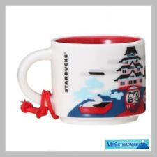 F/S Starbucks Japan Mug 2oz demitasse cup you are here collection fuji sakura