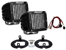 RIGID LED Fog Light Kit for Toyota Tundra Tacoma w/ DOT SAE D-Series PRO 46530