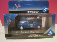 Solido 1526 1990 Renault Clio 16S, Racing; 1:43 Scale, Excellent Boxed