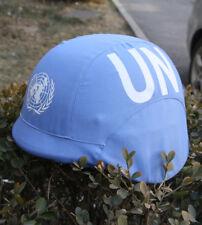 UNITED NATIONS PEACEKEEPING FORCE TACTICAL MILSPEC M88 HELMET COVER