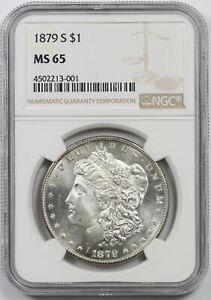 1879-S Morgan Dollar $1 MS 65 NGC