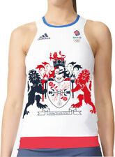 adidas Team GB Womens Training Tank Top - White