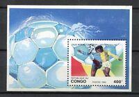 38112) Congo Rep.1993 MNH Football Games USA S/S World Cup