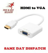 HDMI to VGA with Audio Output Cable Converter Adapter Lead for PS3 Xbox HDTV PC