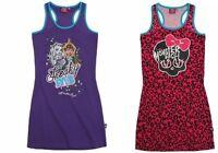 Monster High Mädchen Rock Kleid Tunika Tshirt Tanktop Draculaura Frankie Stein