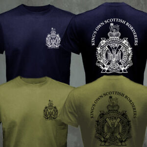 King's Own Scottish Borderers British Army Infantry Military T-shirt