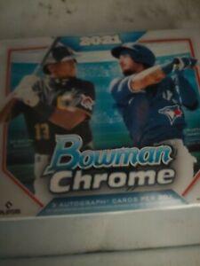 2021 Bowman Chrome Hta Jumbo Box