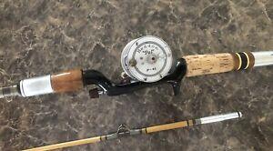 Heddon Pal Mark IV #6916 P-41 Rod N Reel Combo Vintage Bait Casting Set