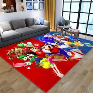3D Mario Doormat Sonic Rug Bedroom Door Mat Dining Room Floor Mat Carpet