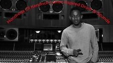 Kendrick Lamar Sound Drums & Samples kit Trap 808 FL Logic Pro X MPC Maschine FL