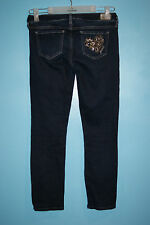 Guess Jeans Youth Womens slim skinny leg mid-rise Blue Denim pants size 25