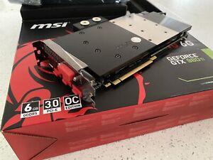 MSI GTX 980ti