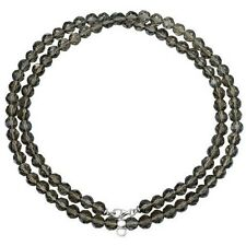 Esprit Charm Kette Damen Charms Collier Silber Taupe Stone