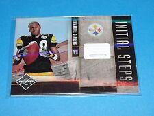 2010 Limited EMMANUEL SANDERS #21 Rookie Shoe/80 Steelers-Broncos SMU Mustangs