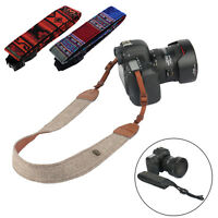 Camera Shoulder Neck Vintage Strap Belt for Sony Nikon Canon Olympus DSLR Pentax