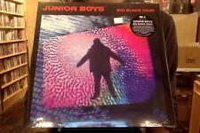 Junior Boys Big Black Coat LP sealed 180 gm vinyl + mp3 download