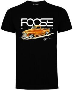 Official Foose Design '52 Pickup' T-Shirt - GMC- Chevy- Hot Rod - Musclecar -
