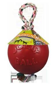 Jolly Ball Romp-n-Roll 15cm Rot