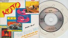 Koto CD-MAXI THE KOTO MIX  / JABDAH   ( 3inch)   CARDSLEEVE