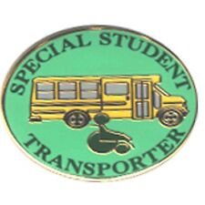 Special Needs School Bus Driver Pin - Green