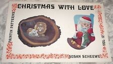 Christmas With Love Vol 12 Susan Scheewe Tole Decorative Painting Book 1980 CUTE