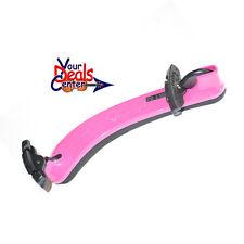 Everest Spring Collection COLLAPSIBLE  Violin Shoulder Rest  4/4-3/4 Hot Pink
