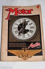 The Motor Magazine WW2 Issue 1942 December 16th: Type 35 Bugatti/Seldon Patent