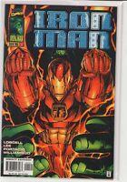 Iron Man (Volume 2) #1 Heroes Reborn Scott Lobdell Jim Lee Hulk variant 9.6