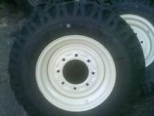 4) Skid Steer Snow Tires & Wheels 750-16 10 ply fits Bobcat Case N.H. John Deere