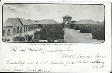 stanford university cal postcard inner quadrangle dated 1904