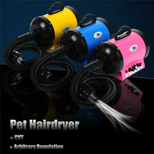 110V 2800W  Dog Pet Grooming Dryer Hair Dryer Removable Pet Hairdryer + 3 Nozzle