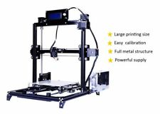 Newest  I3 3D Printer Metal Kit Heated Bed auto-level heated bed DIY filaments
