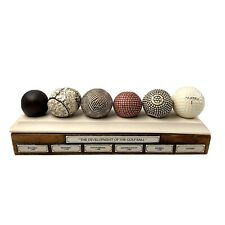 Development of the Golf Ball Golfing Display Desk Box 6 Balls Made In England