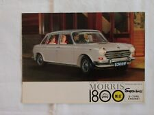 Morris 1800 MkII brochure/leaflet 1968 – British Leyland,  S-Type Engine