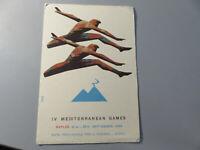 Carte Postale Publicité Période Jeux Méditerranéen Never Shipped de Collection