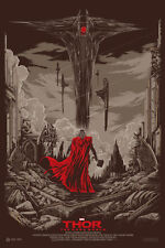Thor: The Dark World Poster - Mondo - Ken Taylor - Limited Edition of 400