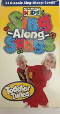 Cedarmont Kids-Sing-Along-Songs-Toddler Tunes-VHS 2001-RARE-SHIPs N 24 HRS
