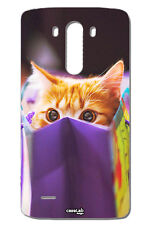 CUSTODIA COVER CASE GATTO BUSTA SHOPPING PER LG G3 MINI D725