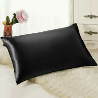 Pure Mulberry Silk Pillowcase Pillow Case Cover Housewife Queen Standard