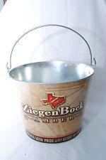 Ziegenbock Amber Beer, Beer Bucket, Galvanised Tin with handle