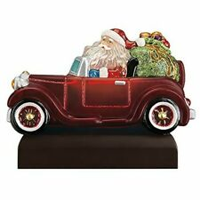 Old World Christmas 529779 Glass Blown Santa in Antique Car Light Ornament