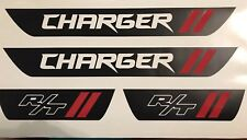 Dodge Charger Vinyl Door Sill Decals