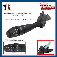 Commodo Commutateur de Direction Peugeot 206 207 307 1007 avec Klaxon 96477533XT