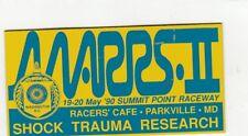SCCA Dash Plaque MARRS II  1990 SUMMIT POINT RACEWAY Washington D.C.