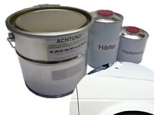 1,75 Liter Set 2K Autolack RAL 9003 Signalweiß kein Klarlack Trend Tuning VW,BMW