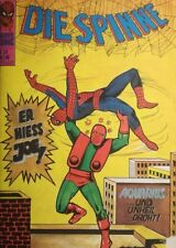 Bronze Age + Marvel + German + 39 + Die Spinne + Spider-Man + Stan Lee +