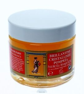 L.T. Piver Brillantine Pomade Pompeia NOS Made in France 2 ounce jar