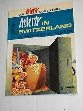 Vintage Darguad ASTERIX IN SWITZERLAND Goscinny Uderzo TPB Trade Paperback