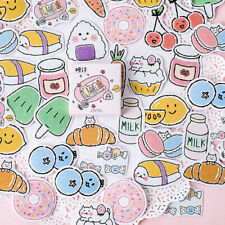 New listing 45pcs Snack Pocket Diy Decorative Stickers Paper Labels Gifts Packaging Dec^*