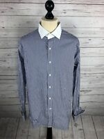 RALPH LAUREN Shirt - 17 - Striped - Great Condition - Men's